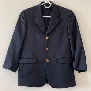 Zanieri Navy Blazer w/ Gold Buttons